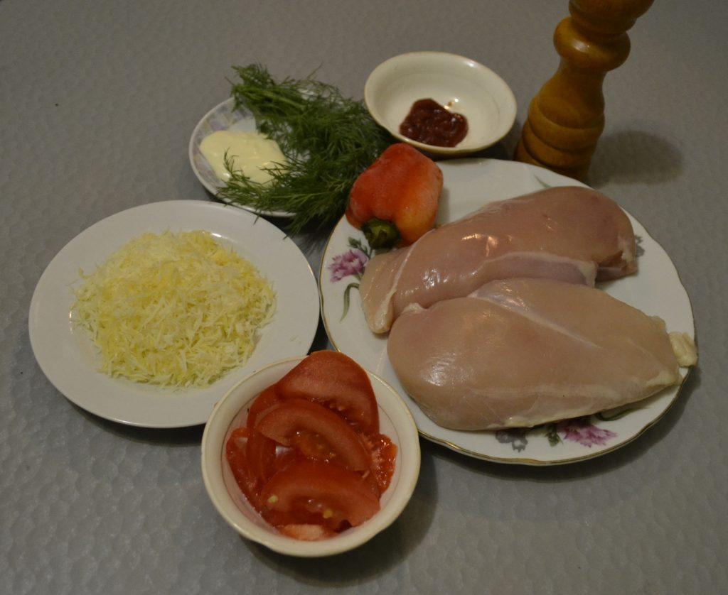 Фото рецепта - Запеченные куриные отбивные под сыром - шаг 1