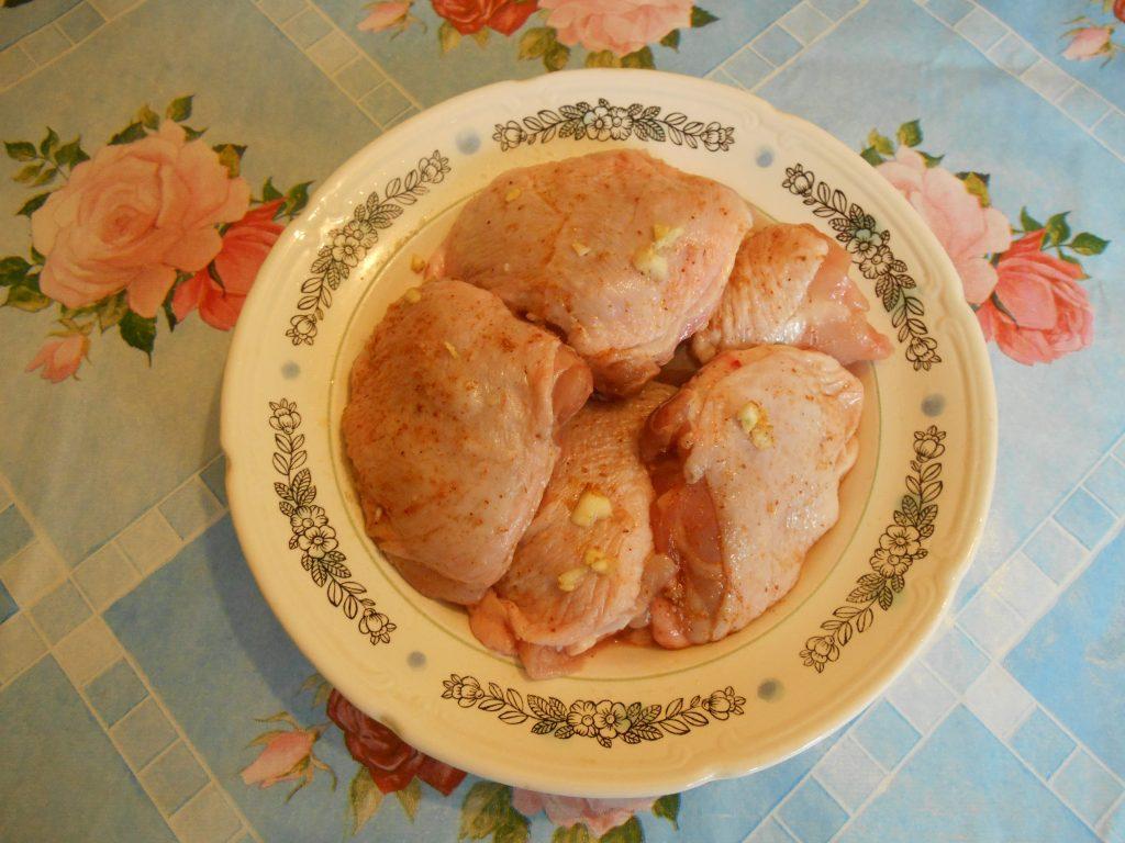 """Фото рецепта - Бёдрышки куриные в молочном соусе """"Карри"""", в мультиварке - шаг 2"""