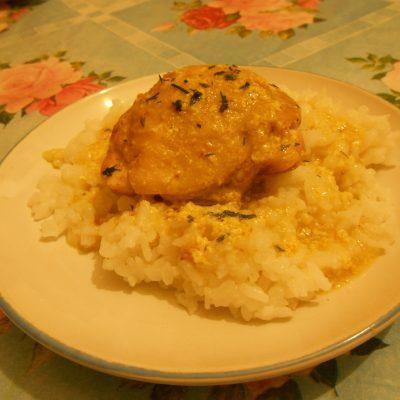 """Фото рецепта - Бёдрышки куриные в молочном соусе """"Карри"""", в мультиварке - шаг 5"""