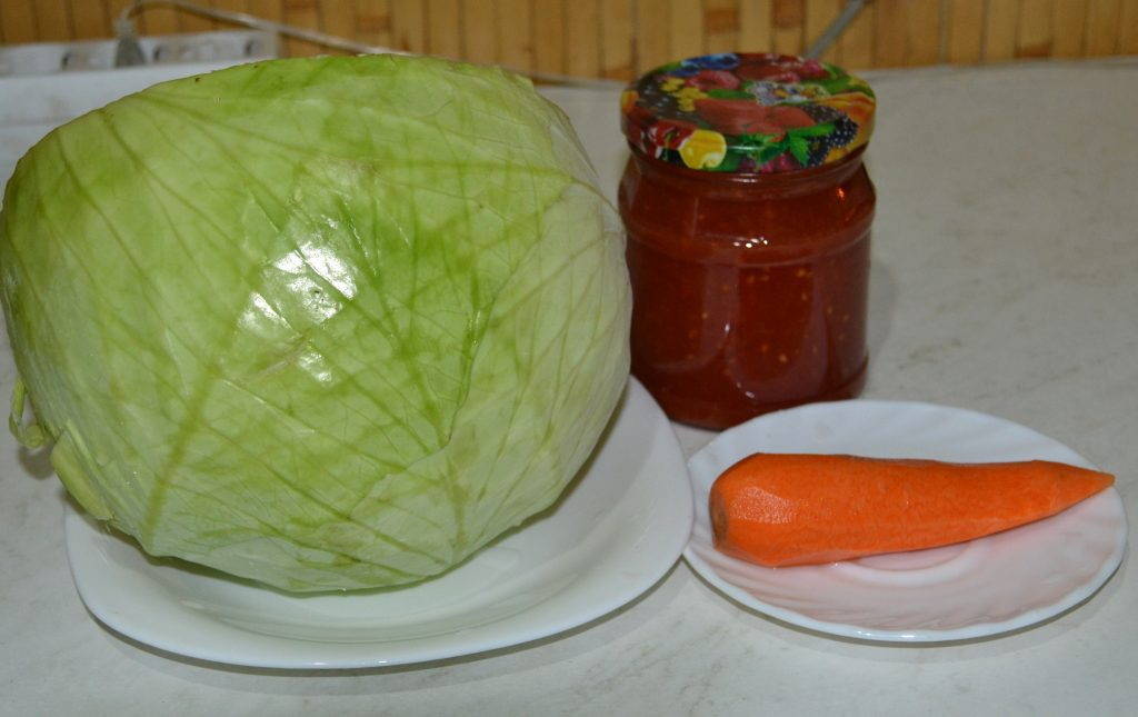 Тушеная капуста - рецепт пошаговый с фото