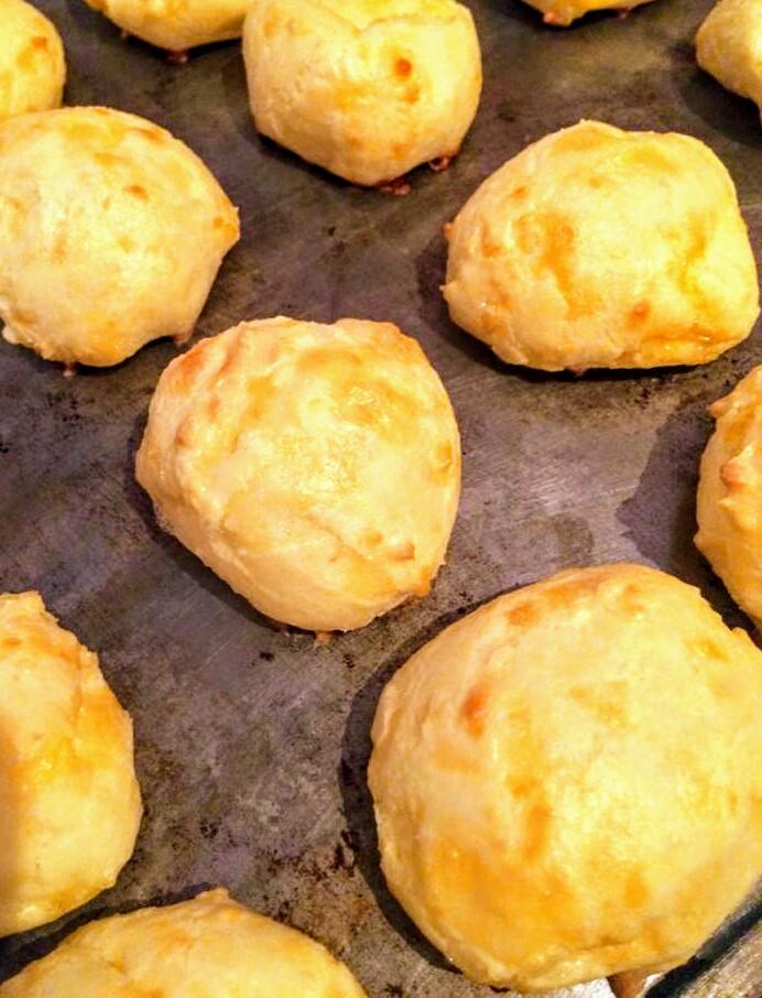Фото рецепта - Сырные профитроли - шаг 5