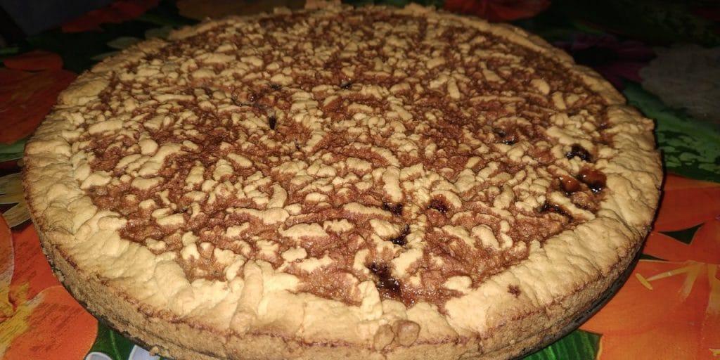 Фото рецепта - Тёртый пирог с вареньем - шаг 10