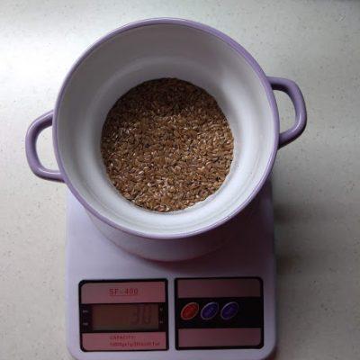 Фото рецепта - Льняная каша - шаг 1
