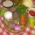 Фото рецепта - Постный борщ с фасолью - шаг 1