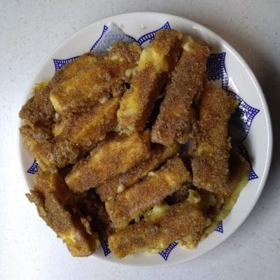 Фото рецепта - Жареные сырные палочки - шаг 3