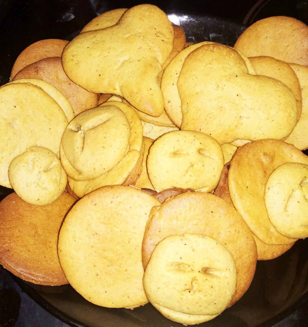 Пряное имбирное печенье