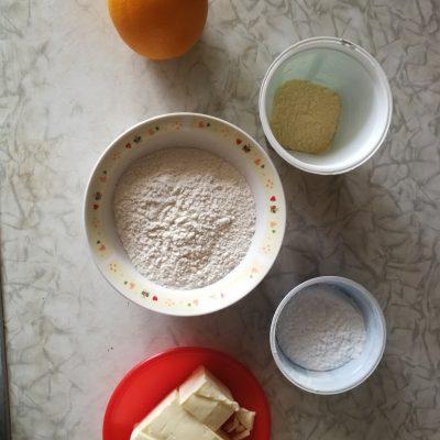 Фото рецепта - Праздничное шотландское печенье - шаг 1
