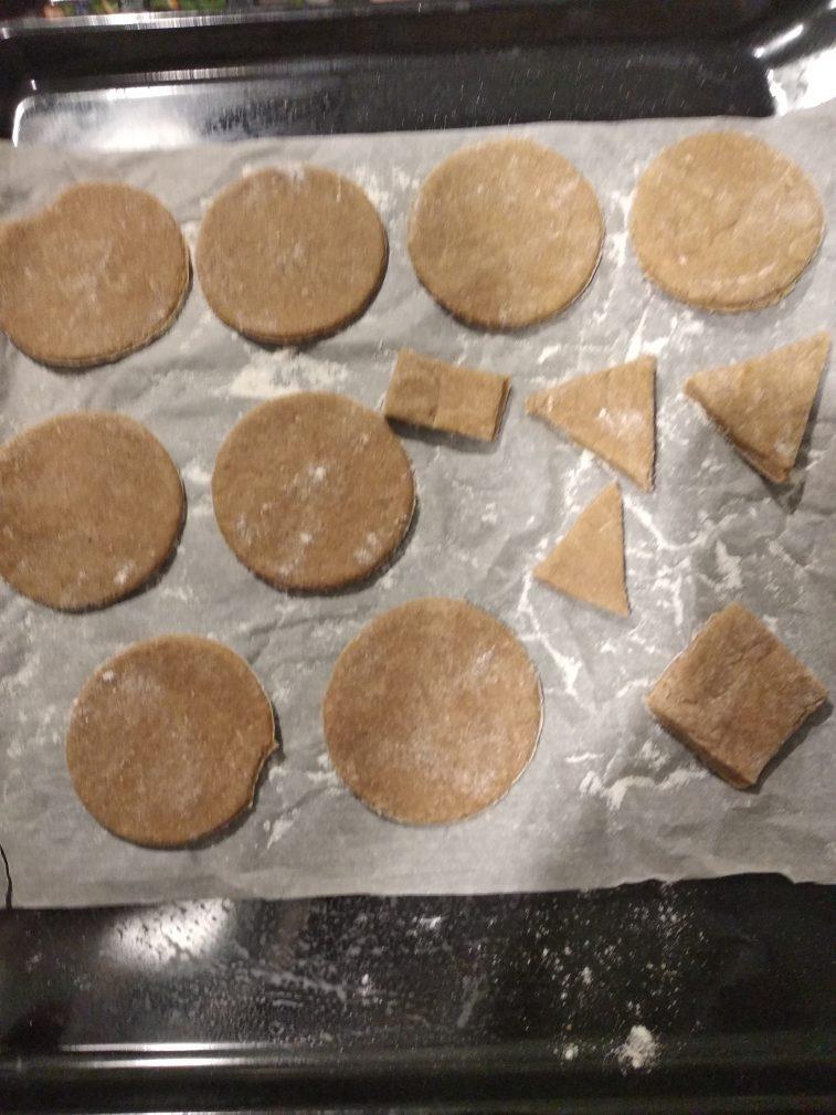 Фото рецепта - Домашнее имбирное печенье (имбирный пряник) - шаг 4