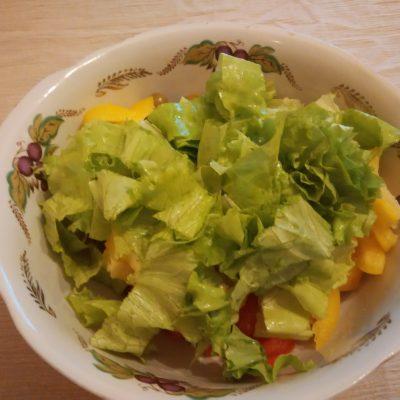 Салат с огурцами, брынзой и семенами льна - рецепт пошаговый с фото