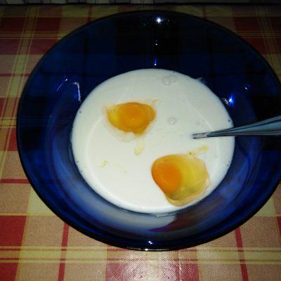 Фото рецепта - Оладьи на снежке - шаг 1
