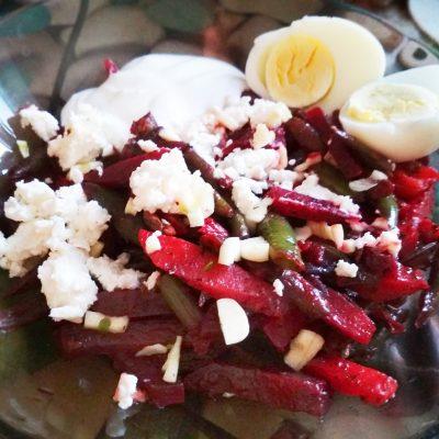 Осенние овощи с рассольным сыром - рецепт с фото