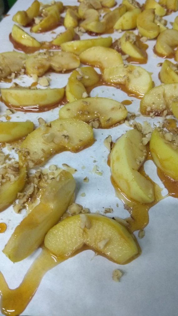 Фото рецепта - Яблоки в карамели. Постный десерт - шаг 7