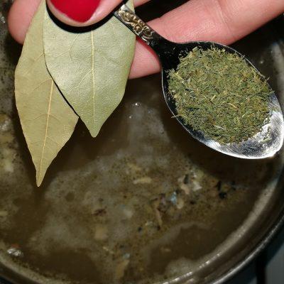 Фото рецепта - Пикантный супчик из консервов с персидской чечевицей - шаг 8