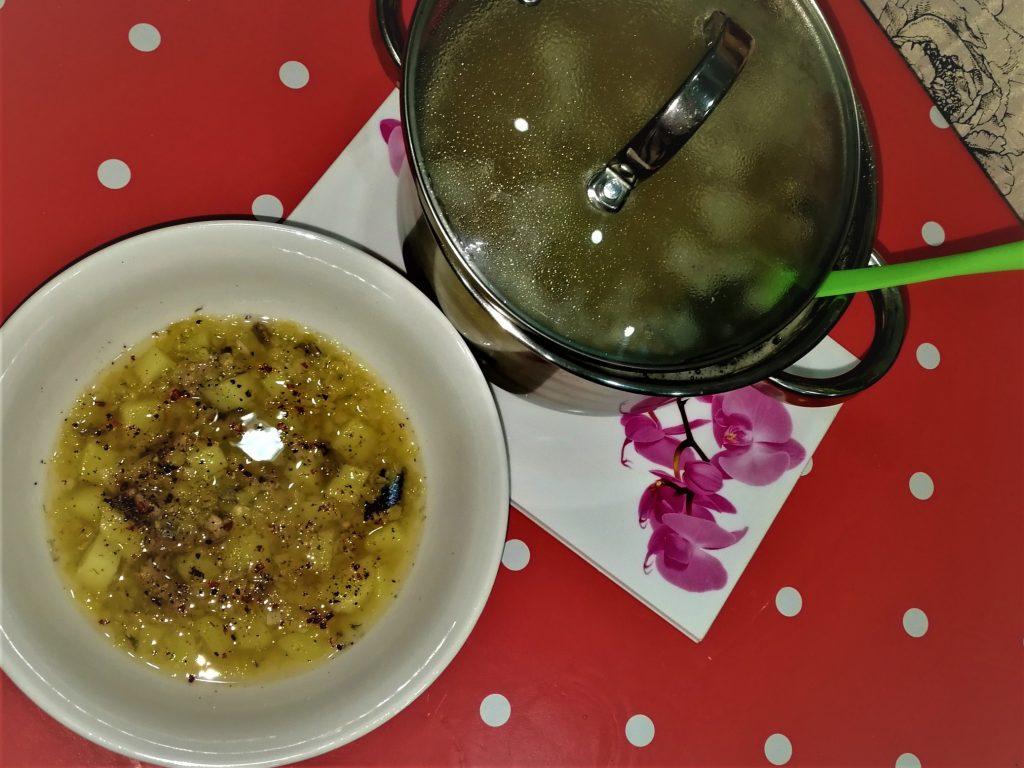 Фото рецепта - Пикантный супчик из консервов с персидской чечевицей - шаг 9
