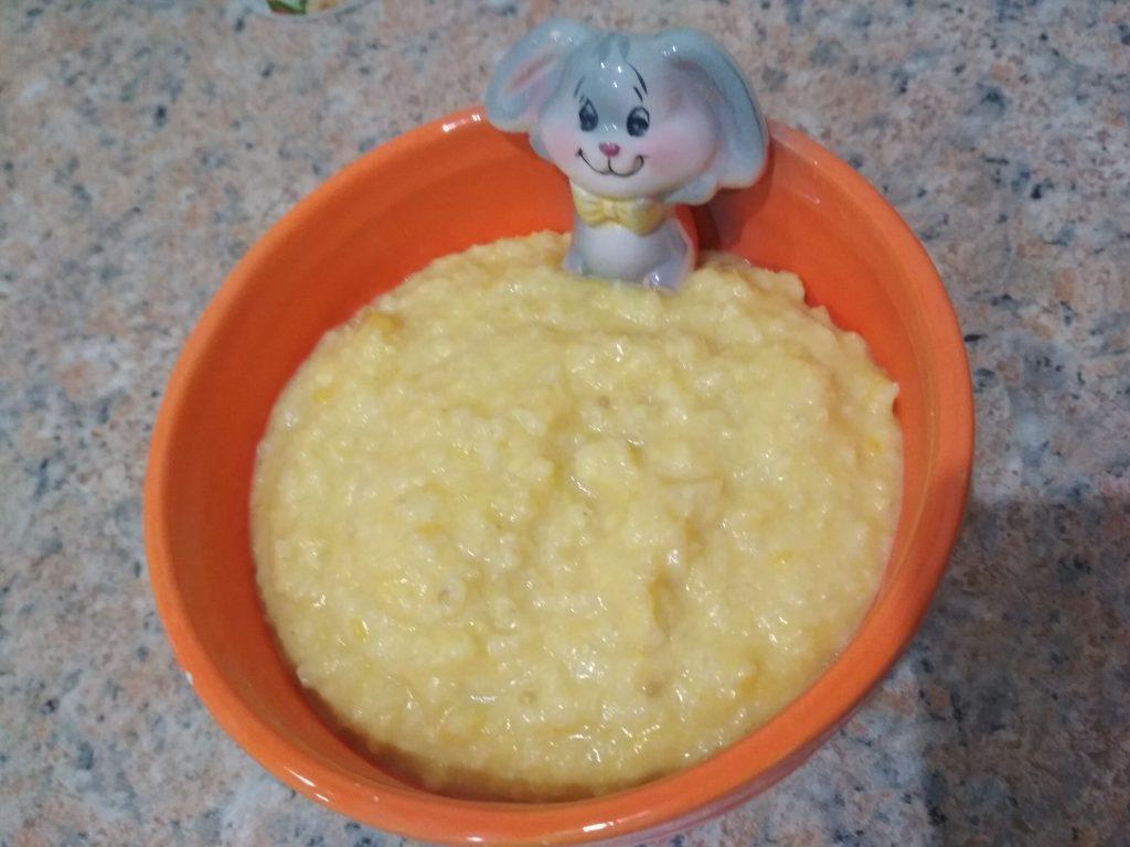 Фото рецепта - Тыквенно-пшенная каша на молоке - шаг 5