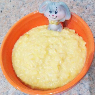 Тыквенно-пшенная каша на молоке - рецепт с фото