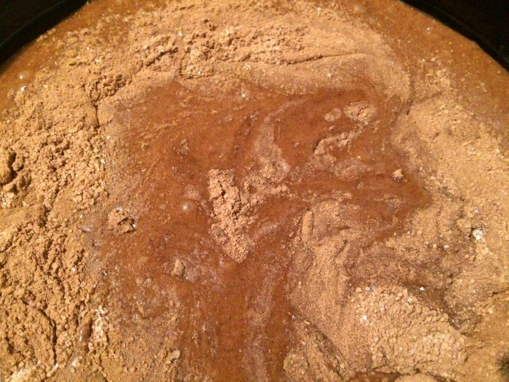 Фото рецепта - Шоколадный постный пирог - шаг 4