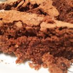 Шоколадный постный пирог