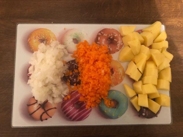 Фото рецепта - Суп со шпинатом и яйцом - шаг 2