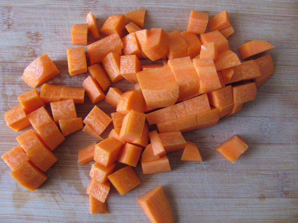 Фото рецепта - Картофель по-индийски (тушеный) - шаг 2