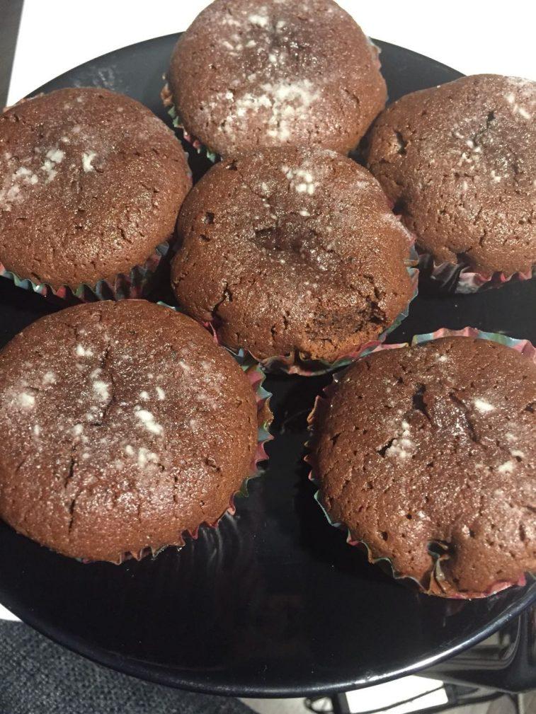 Фото рецепта - Шоколадный маффин – рецепт - шаг 7