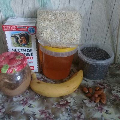 Фото рецепта - Банановый пудинг с чиа - шаг 1