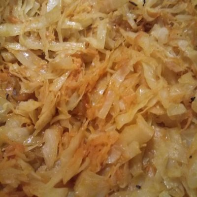 Фото рецепта - Тушеная капуста в духовке, в рукаве - шаг 5