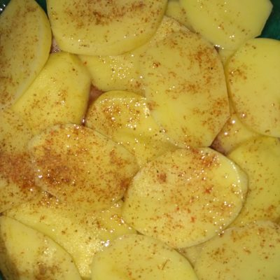Фото рецепта - Картофельная запеканка с свино-говяжьим фаршем - шаг 3