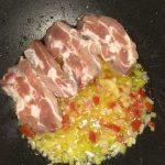 Фото рецепта - Свиные ребрышки восточные с овощами - шаг 3