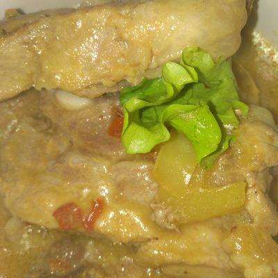 Фото рецепта - Свиные ребрышки восточные с овощами - шаг 5