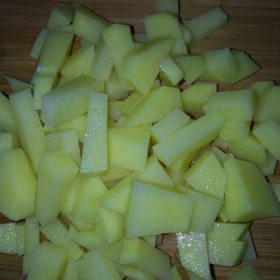 Фото рецепта - Картофельное рагу со свининой - шаг 1