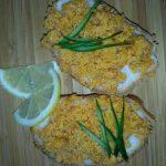 Фото рецепта - Бутерброды с жареной икрой из карпа - шаг 4