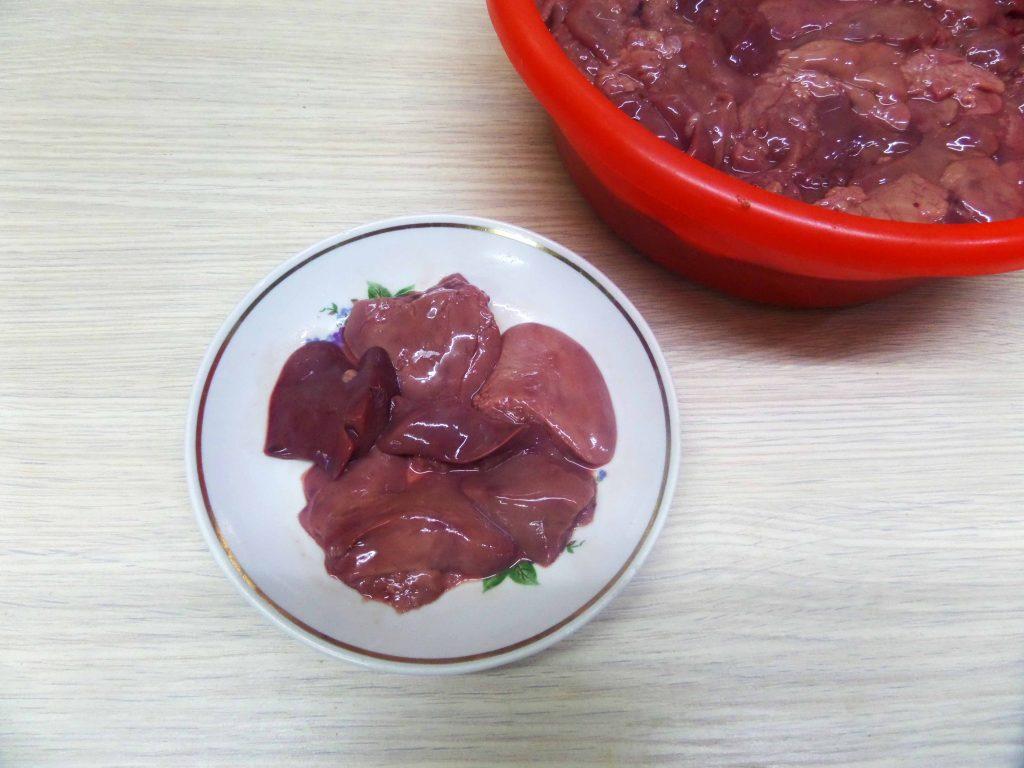 Фото рецепта - Праздничный паштет из куриной печени - шаг 2