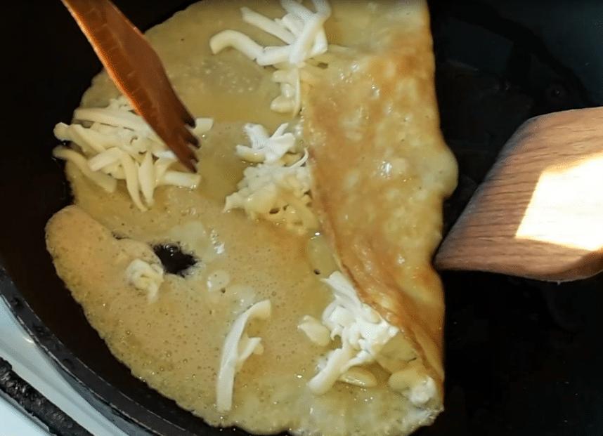 Фото рецепта - Японский омлет за 10 минут - шаг 7