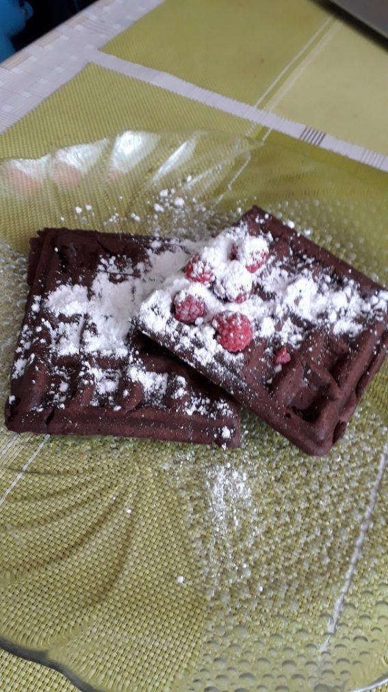 Фото рецепта - Шоколадные вафли - шаг 5