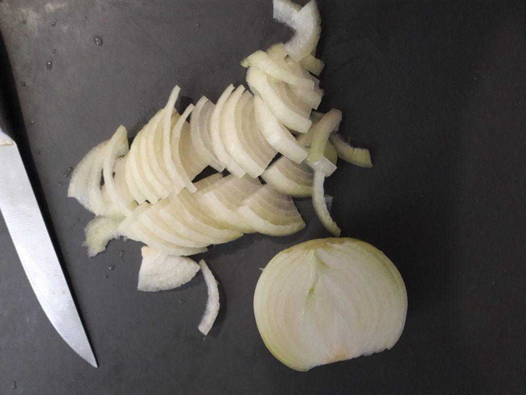 Фото рецепта - Жареный картофель с мясом, как у Бабушки - шаг 6