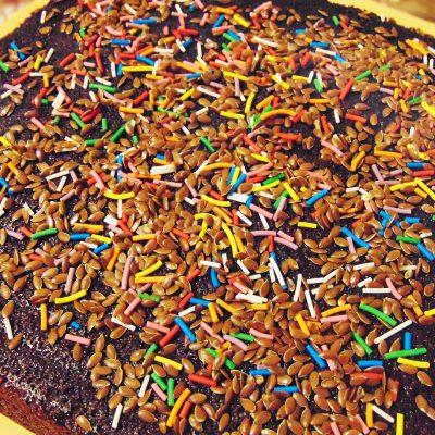 Шоколадный манник с маком - рецепт с фото