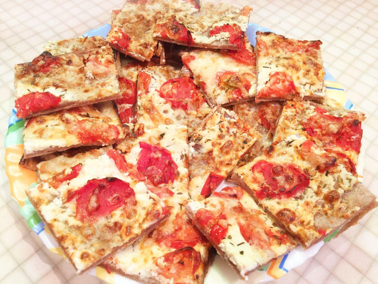 "Пицца ""Пламенный пирог"""
