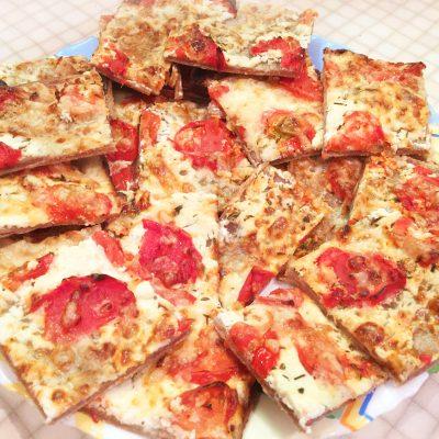 "Пицца ""Пламенный пирог"" - рецепт с фото"
