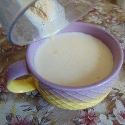 Фото рецепта - Овсяный блин на кунжутном молоке - шаг 3