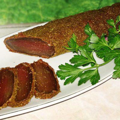 Бастурма в домашних условиях из свинины - рецепт с фото
