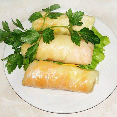 Маринованные овощные голубцы - рецепт с фото