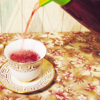 Имбирный компот со смородиной - рецепт с фото