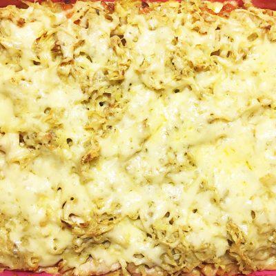 Картофельно-тыквенная запеканка с курицей - рецепт с фото