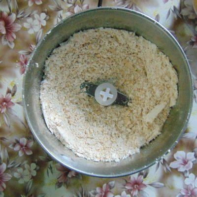 Фото рецепта - Овсяный блин на кунжутном молоке - шаг 2