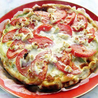 Запеканка из кабачков с сыром и помидорами - рецепт с фото
