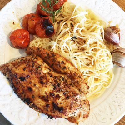 Запеченное куриное филе по-азиатски - рецепт с фото