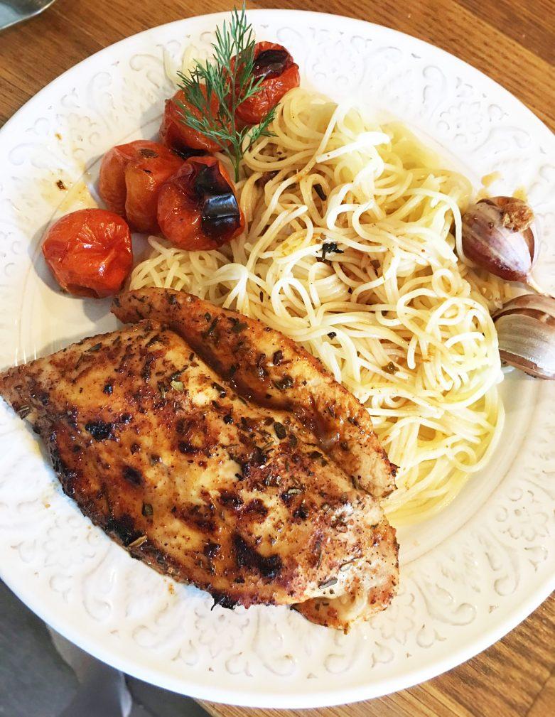 Фото рецепта - Запеченное куриное филе по-азиатски - шаг 6