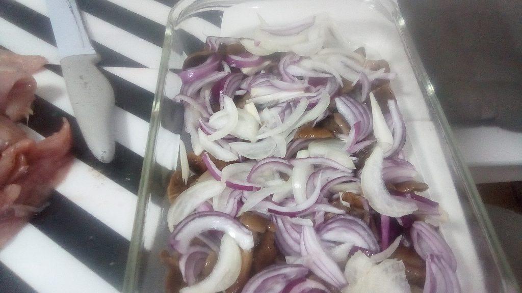 Фото рецепта - Запеканка из индейки с грибами - шаг 11