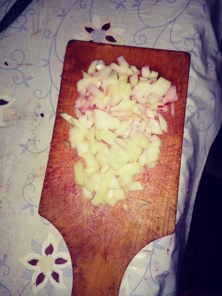 """Фото рецепта - Винегрет """" Королевский"""" с яблоком - шаг 3"""